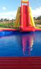 Inflatable rock-climbing slides castle large land air toys ,amusement rocking-climbing castle