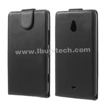 High quality classical Vertical lychee leather for nokia lumia 1320 pu leather flip case