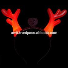 Party LED Flashing Deer horn Headband/ Hairband