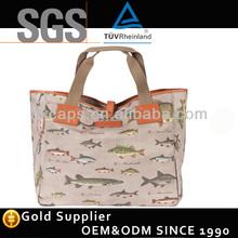 2014 New striped beach women's bag