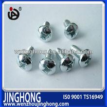 High Quality Carbon Steel Hardend Din 7516 Self Cutting Screws