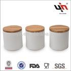 Super White Ceramic Cosmetic Jars