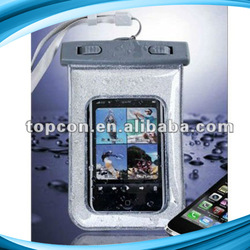 IPX8 waterproof cell phone bag for samsung galaxy note