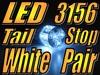 New 3156 13Q SMD LED White Bulbs Turn Brake stop Tail Lights Park