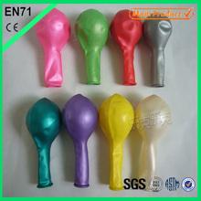 Party Balloons 9inch Metallic Color Decoration Ballons