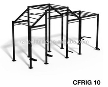 4 Cell cross rig with flying push up bar