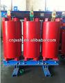 de fundición de resina de tipo seco transformador de distribución 630 kva