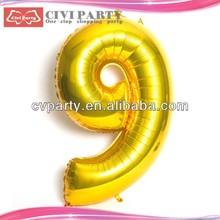 Custom shaped foil helium balloon,aluminium foil balloon balloon with silk printing