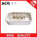 De aluminio desechables bandejas de servicio para bar restaurante& para envasado de alimentos