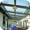 Difusor de luz uv asfalto telhas de porcelana, folha de policarbonato ondulado para coberturas