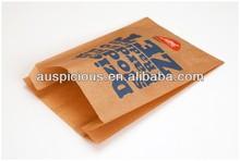 Good quality Fruit Danish bakery bread paper bag brown paper bag
