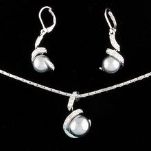 2014 moti african beads pearl jewelry set