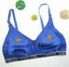 20000# USA women hot wholesale large size wireless underwear , UK women elegant large cup wireless cotton bra