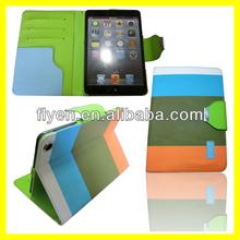 hot sale folio pu leather case for ipad mini,products for mini ipad case/for ipad mini case