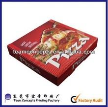 winning own design logo printed pizza box