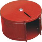 Foshan JHC Residential wood grain Round Tissue Box/Paper Dispenser