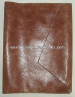 New custom designed genuine leather book cover