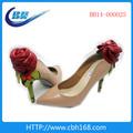 Senhoras 2014 de alta heel shoe wine