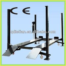 Used Movable Hydraulic 4 Post Car Lift Car Wash Equipment