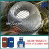Single component polyurea roof coating