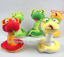customize stuffed plush snake toys
