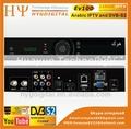 Ev100 HD IPTV youtube wifi receptor de satélite Digital com IPTV canal árabe