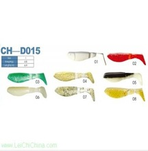 Chinese low price soft lures plastic fishing baits