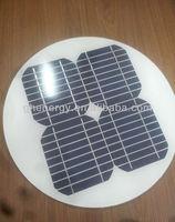 circular mono solar panel for light street