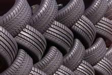 Used passenger car tires