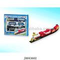 promocionales intermitente juguete de piezas de tren de peluche de felpa juguete del tren de juguete de madera piezas del tren