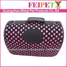 Fannel Lovely Pattern Expandable Cat Dog Carrier Bag