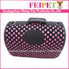 Fannel Lovely Pattern Expandable Cat Dog Carrier Bag