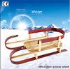 Towable Classic Wood antique sleigh(SB-SLED-016B)