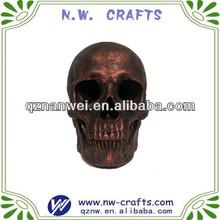 Custom personalized resin skull head halloween gift