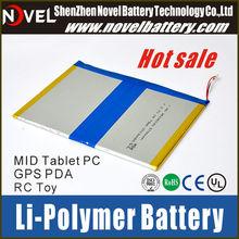 Long lasting time 1S2P 3.7V 6700mAh Li-polymer rechargeable battery