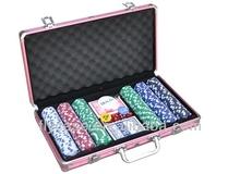 professional poker chips set in aluminum case 500pcs per set for aluminum