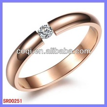 New coming fashion design ring stainless steel ring easy micro ring hair weft
