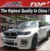 Fiberglass Body kit for BMW 2008-2014 X6 E71 to HMY style x6 HMY aero kit