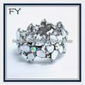 venta al por mayor de la india las nuevas tendencias de colores pulsera de diamantes de imitación de la joyería