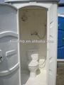 Huida 2014 occidental/estilo oriental de fibra de vidrio de wc portátiles se combinan de ducha habitación