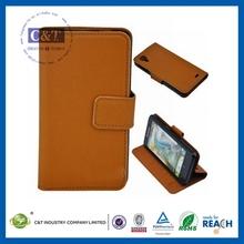 C&T Wallet folio leather PU flip case for lenovo p770