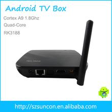 quad core mini pc 1080p android tv box dvb t2
