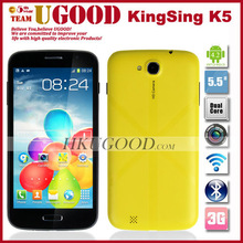 Hot 5.5 inch MTK6572 Dual core Android 4.2 Low price China 3G cell phone
