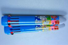 Multi-functional Ten Color Ball Pen