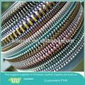 Venda quente& novo mais recente moda 5# dentes de metal zipper rolo& bolsa zipper cadeia chinesa para canton fair em menor desconto