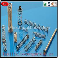 Customized steel ballpoint pen springs,pocket spring,recliner springs, ISO9001/RoHS