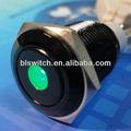 16 mm momentáneo o enclavamiento del interruptor de botón iec 60947 - 5 - 1 con la luz llevada