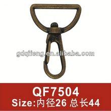 metal hanger swivel for bag