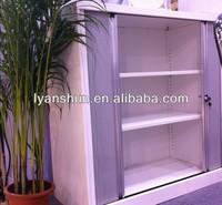 Metal tambour roller shutter door filing cabinet