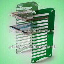 2014 Latest Designed Acrylic cd Rack cd Storage